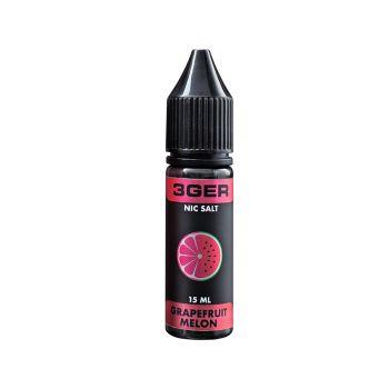 Жидкость для электронных сигарет 3Ger Salt Grapefruit Melon 35 мг 15 мл
