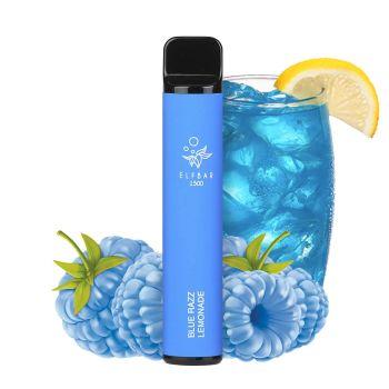 Одноразовая Pod система Elf Bar 1500 Синяя Малина Лимонад 50 мг 850 мАч (0040)
