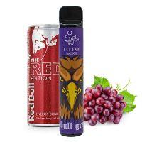 Одноразовая Pod система Elf Bar 1500 Виноград и Энергетик 50 мг 850 мАч (0041)
