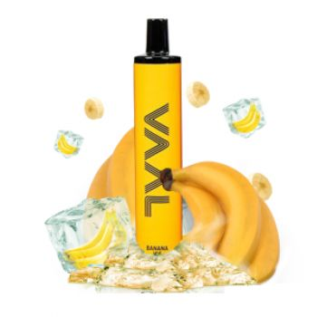Одноразовая Pod система Joyetech VAAL 1500 Банан с холодком 50 мг 950 мАч (0020)
