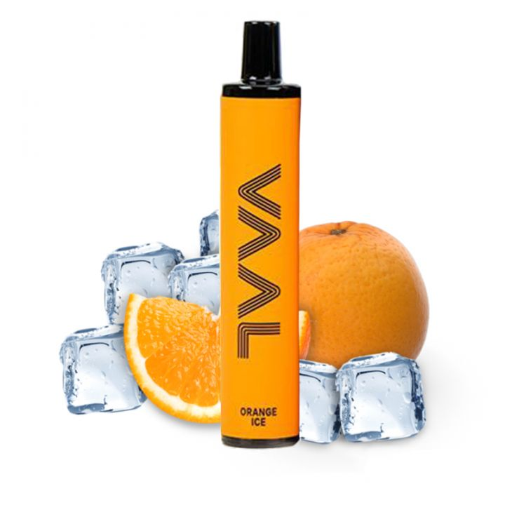 Одноразовая Pod система Joyetech VAAL 1500 Апельсин с холодком 50 мг 950 мАч (0023)