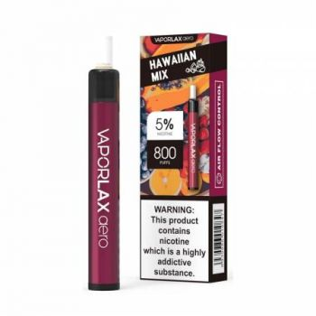 Одноразовая Pod система Vaporlax Aero 800 Hawaiian Mix 50 мг 500 мАч (0020)